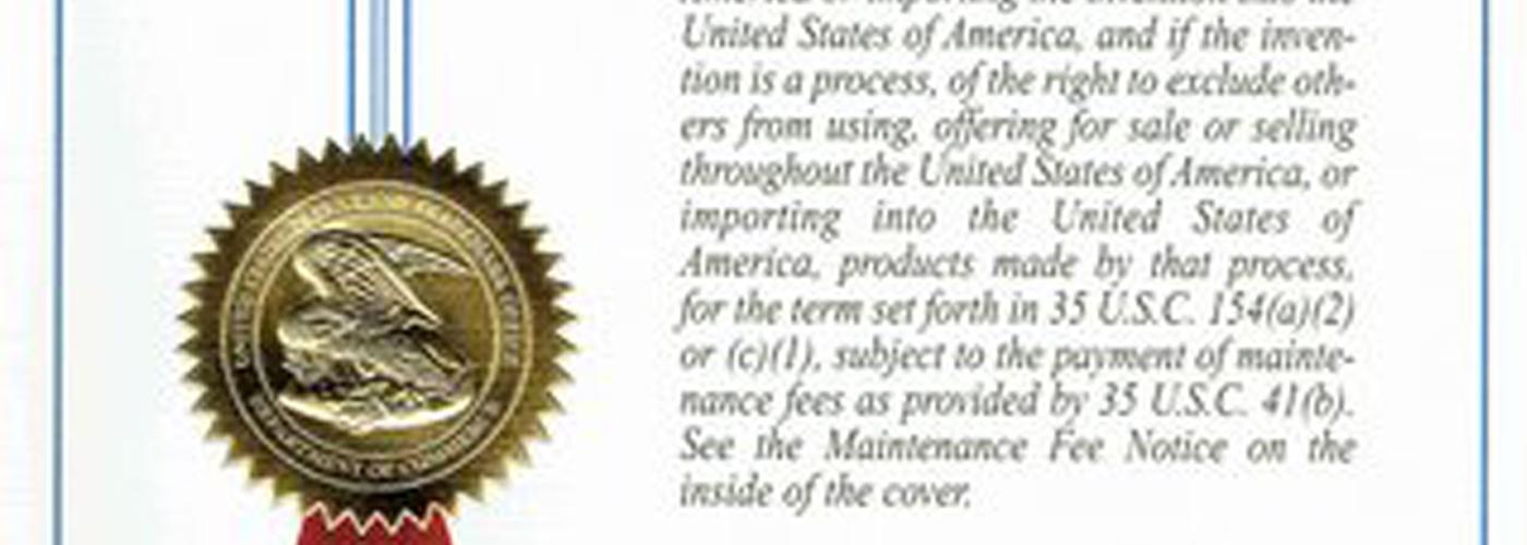 Dental Cerec Holder Patent Approved